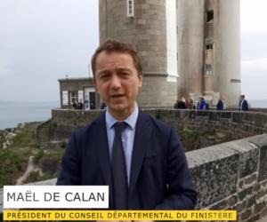 Read more about the article Le Président du Département du Finistère lance la saison touristique au phare du Petit-Minou